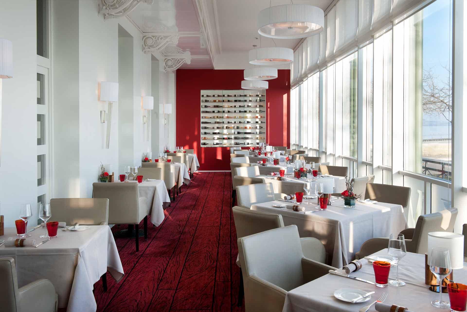 Gastronomie beau rivage hotel ***** à neuchâtel en suisse